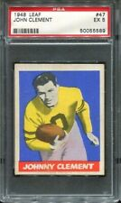 1948 Leaf #47 Johnny Clement PSA 5 Pittsburgh Steelers .
