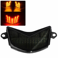 Smoke LED Tail Light Fit For Kawasaki ZX-10R 06-07 ZX-6R/636 Z 750S 2005-2006