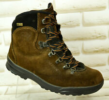 SALOMON GTX Brown Leather Womens Outdoor Waterproof Boots Size 5.5 UK 38.5 EU