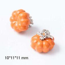 5 PC Halloween Cute Pumpkin Retro Pendant Necklace Handmade Jewelry DIY Making