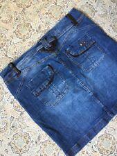 31b72eb080e Torrid Women s Designer Blue Denim Skirt Size 12 Short Skirt Cute Summer  Beach