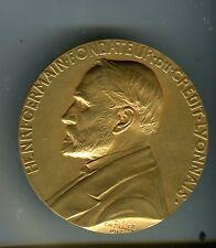 MEDAILLE HENRI GERMAIN fondateur du CREDIT LYONNAIS 1910
