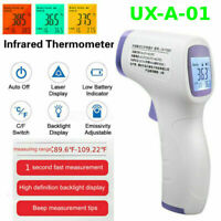 Non-Contact Forehead Thermometer Gun LCD Digital IR Infrared Body Temperature Ur