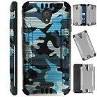 SILVERGUARD For Cricket Vision 3 (2021)/AT&T Calypso Phone Case Hybrid Cover C3