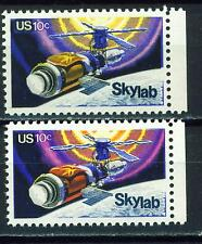 US Space Skylab different colors solar panels broken stamps MNH