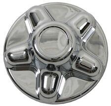 "(1) Chrome Trailer Wheel Hub Cap Covers 5 lug 5 x 4.5"" pattern, cargo,camper"