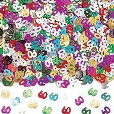 60th Birthday / Diamond Wedding Anniversary Party Table Confetti Decorations