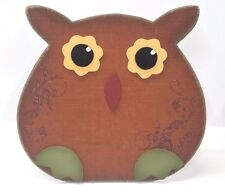 Wooden Owl Table Top Decoration, Fall, Halloween, Thanksgiving