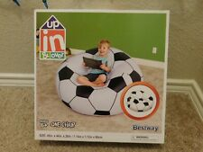 New in box Bestway Up, In & Over Beanless Soccer Ball Chair