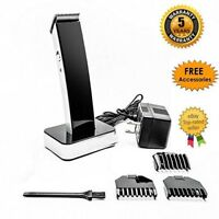 Rechargeable Hair Cut Clipper Shaver Machine Set Kit Neck Beard Body Men Trimmer