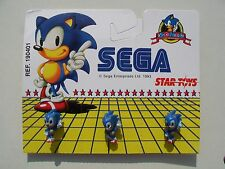 Sega Sonic The Hedgehog 1993 Raro 3D Plastic Pin insignias en tienda insignia de pines de tarjeta