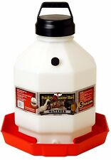 Little Giant Large Capacity Waterer Durable Dent Resistant Withhandle 5 Gallon