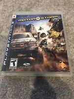 MotorStorm (Sony PlayStation 3, 2007) Complete