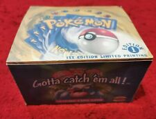 Create your own Custom Pokémon Base Set Replacement Booster Box