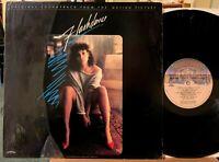 Flashdance Soundtrack Vinyl LP What a Feeling + Maniac Casablanca 422-811 Shrink