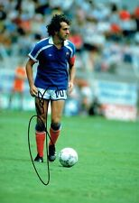 Michel PLATINI Signed FRANCE World Cup WINNER 12x8 Autograph Photo 3 AFTAL COA