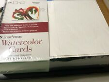 Strathmore Watercolor Cards w/Envelopes 100 Ct   #105-650 Cold Press Watercolor