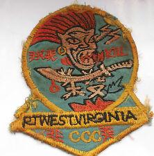 original vietnam american war vintage west virginia CCC MAC SOG  cloth patch