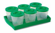 Fresh N Freeze Reusable Baby Food Storage Containers One Step Ahead 6 x 4 Oz