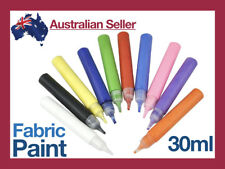 30ml Fabric Paint Tube Puffy Pen Permanent Dye Crafts Fun Art Project Clothes