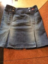 miss sixty denim skirt
