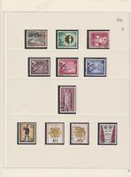 germany 1957/59 used stamps page ref 17675