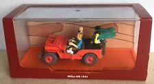 Atlas Moulinsart Jeep Willys MB 1943 Tintin au pays de l'or noir 1/43ème