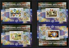 Georgien Block 35/38 A und B ** 50 Jahre Europamarken (3814)