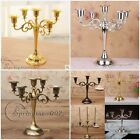 Retro Vintage 3/5 Arms Metal Crafts Candelabra Wendding Candle Holder Home Decor