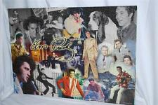 "Elvis Presley Assembled Puzzle 27"" x 19"" on mat Hawaii 1950's 1960's Las Vegas"