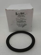 """Apex Flanged Clamp Gaskets Vition , 40MPF-SFY-4  4"""" Z(25 count)"""