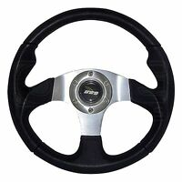 340mm Moulded Steering Wheel - Silver Centre - M Range M34M3PS - Mountney