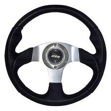 340mm Moulded Steering Wheel - Silver Centre - M Range M34M3PS - Mountney