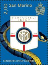 [CF7690.1] San Marino 2018, 100 Aniv. del Inter (MNH)