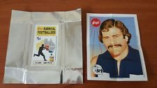 Acheron Korny's Karnival Footballers BIG V Mini POSTER Leigh MATTHEWS & WRAPPER