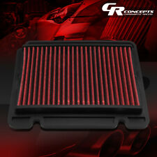 RED WASHABLE HIGH FLOW AIR FILTER PANEL FOR 04-11 CHEVY AVEO 09-11 AVEO5 T200