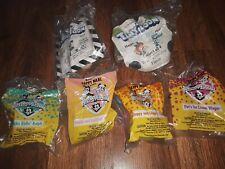 Lot of 6 Happy Meal Toys ANIMANIACS & vtg tiny toons McDonalds Toys,rare bag66
