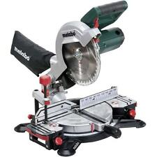 New Metabo KS216M 216mm 1350 Watt Mitre Saw With Laser And LED Lamp