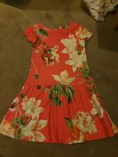 Girls Ted Baker Dress 4-5 Years