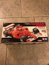 TAMIYA 1/10 RC Ferrari F2001 4WD Racing Car F1 Michael Schumacher  NEU&OVP