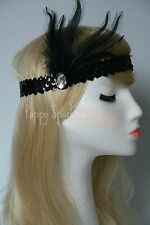 1920's Headband, Great Gatsby, Charleston, Flapper, Headpiece, Headdress