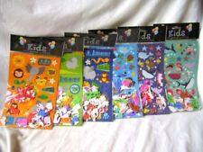 Multi-Coloured Foam Scrapbooking Stickers