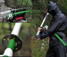 Razor Sharp Japan Ninja Sect Shrine Samurai Sword Katana High Carbon Steel #8431