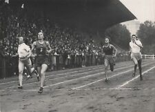 SPORT-ATHLETISME, Mlle TOULOUSE, STADE JEAN BOUIN 1942 PHOTO TRAMPUS