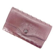 Bottega Veneta Key holder Key case Intrecciato Brown Woman Authentic Used Y453
