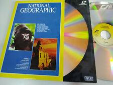 National Geographic le Gorille Odyssée Africaine - Laserdisc Ld