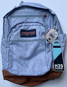 Jansport Cool Student Blue Floral Backpack