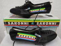 Detto Pietro Saronni Cycling Shoes 37 Vintage Bike Racing Pavarin Milano Italy