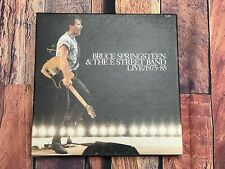 VTG Bruce Springsteen & The E Street Band LIVE 1975-85 LP 5 Record Box Set