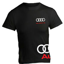 T-Shirt Audi TT R8 Quattro Sport Racing RS A1 E-Tron Sport Travel maglia